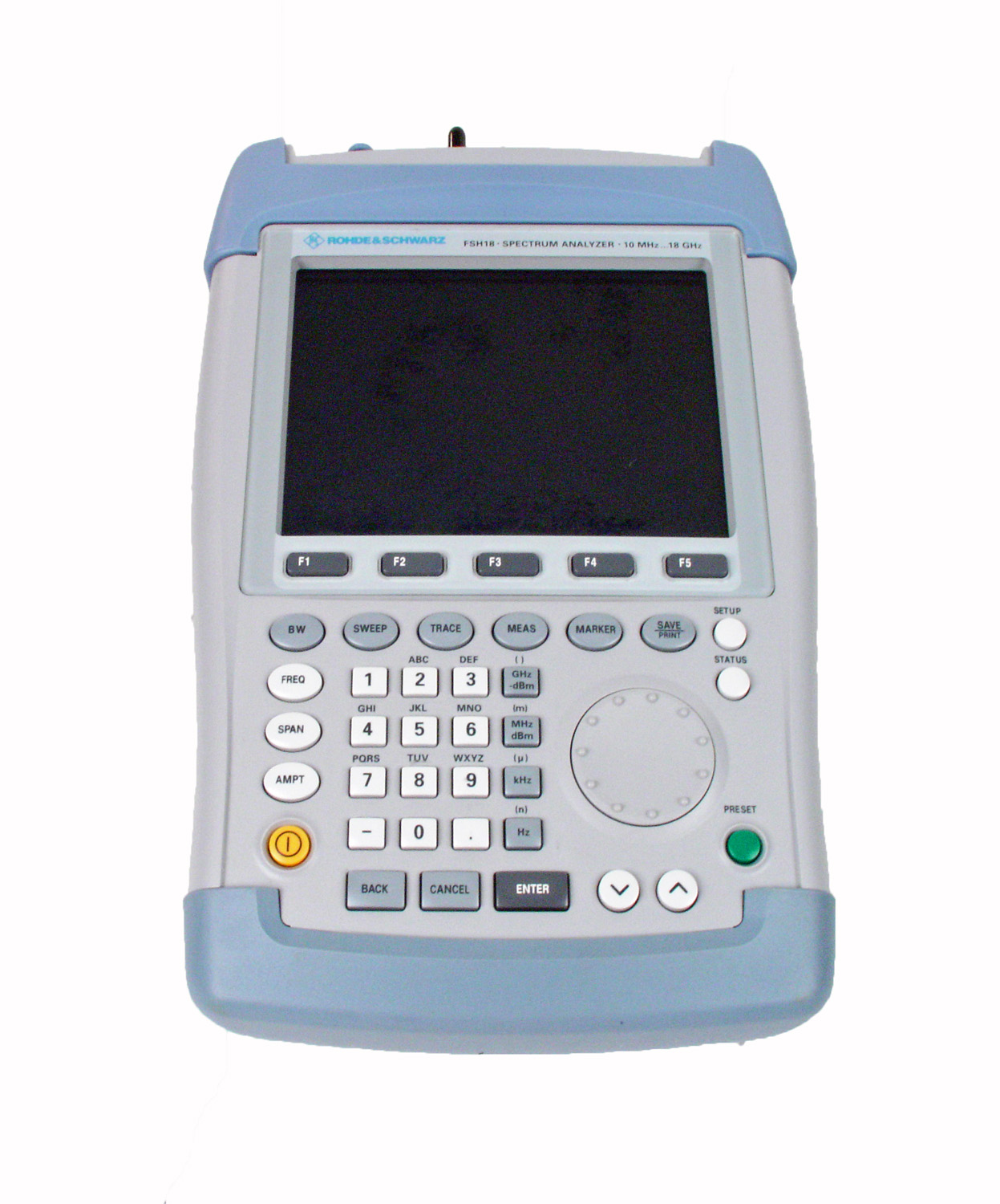 Rohde & Schwarz FSH18 just arrived