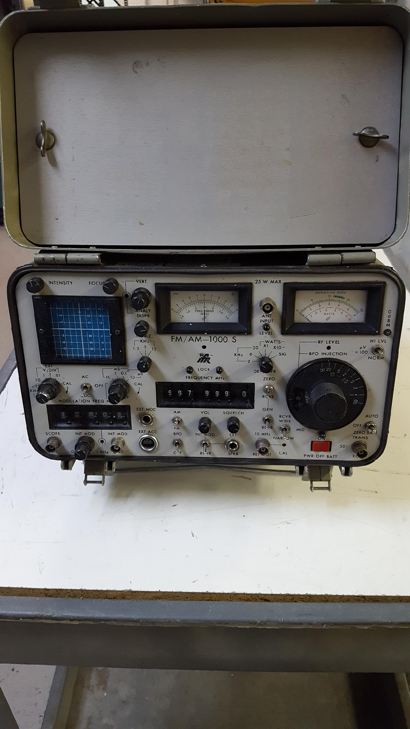 IFR FM/AM-1000S for sale