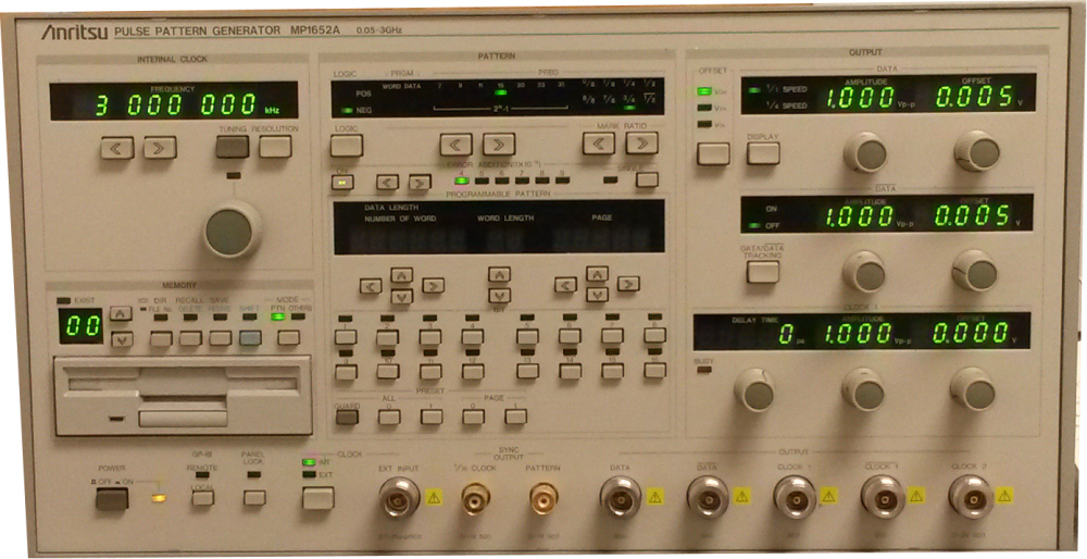 Similar product is Anritsu MP1652A