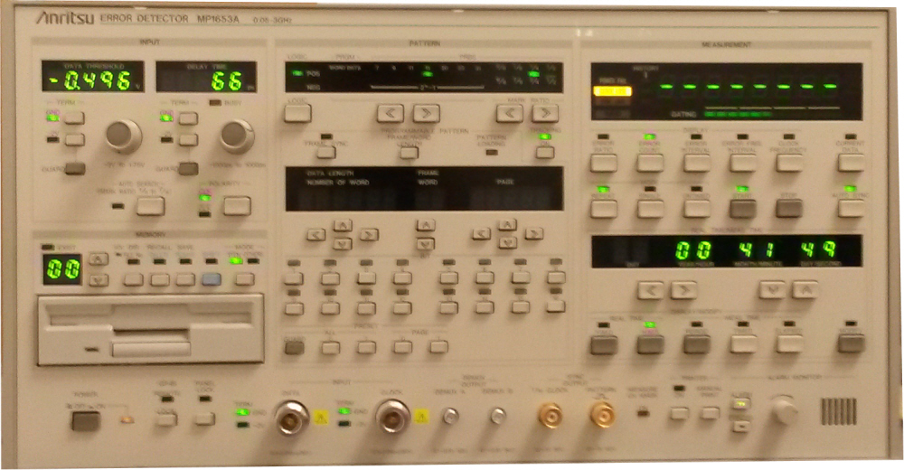 Anritsu MP1653A for sale