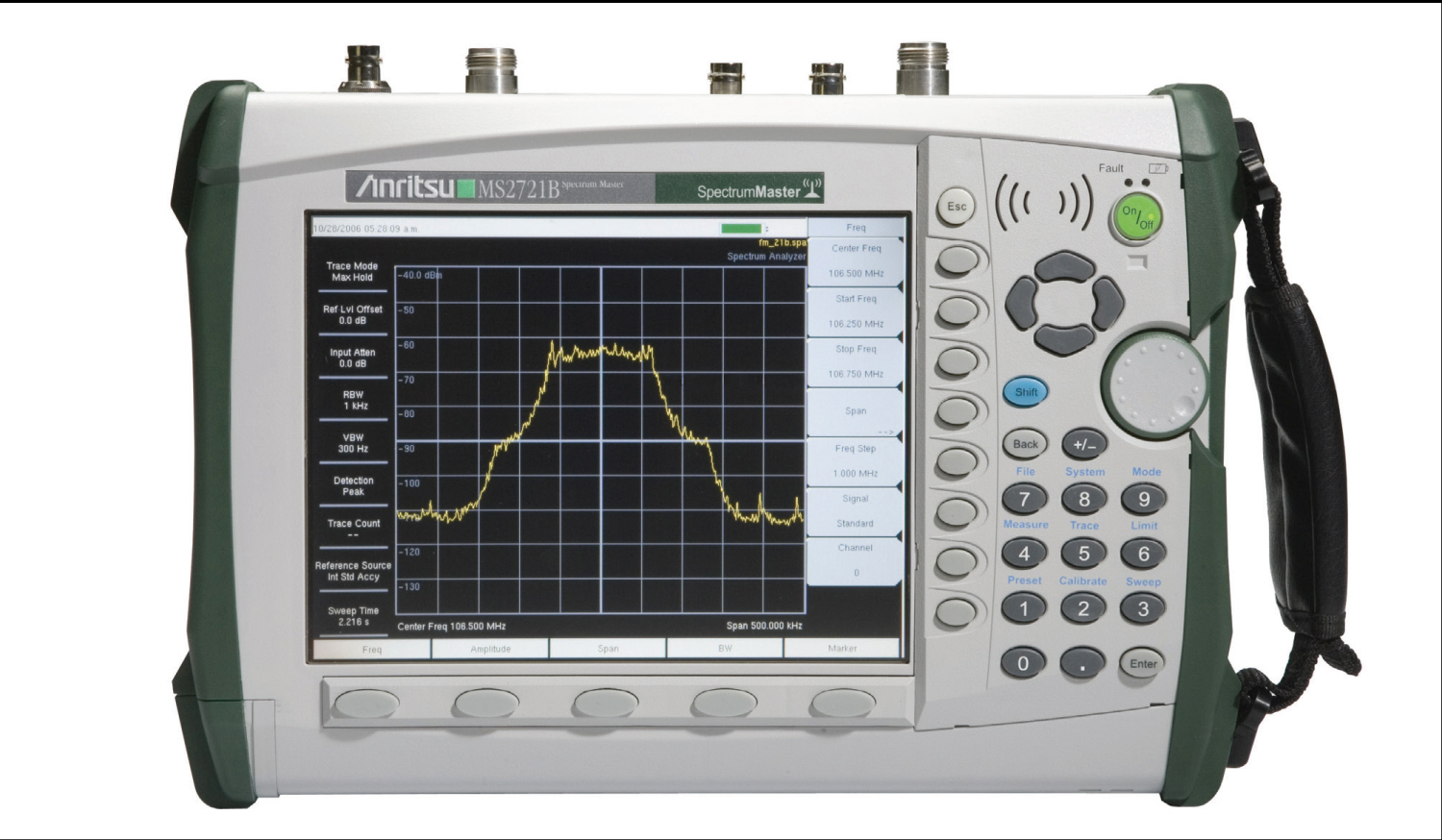 Anritsu MS2721B  just arrived
