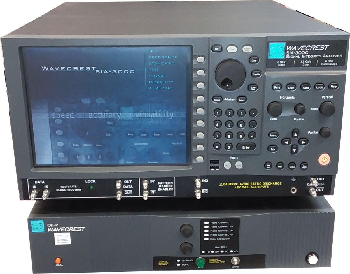 Wavecrest SIA-3000 with OE-2 for sale