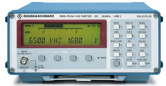 Rohde & Schwarz URE3 just arrived