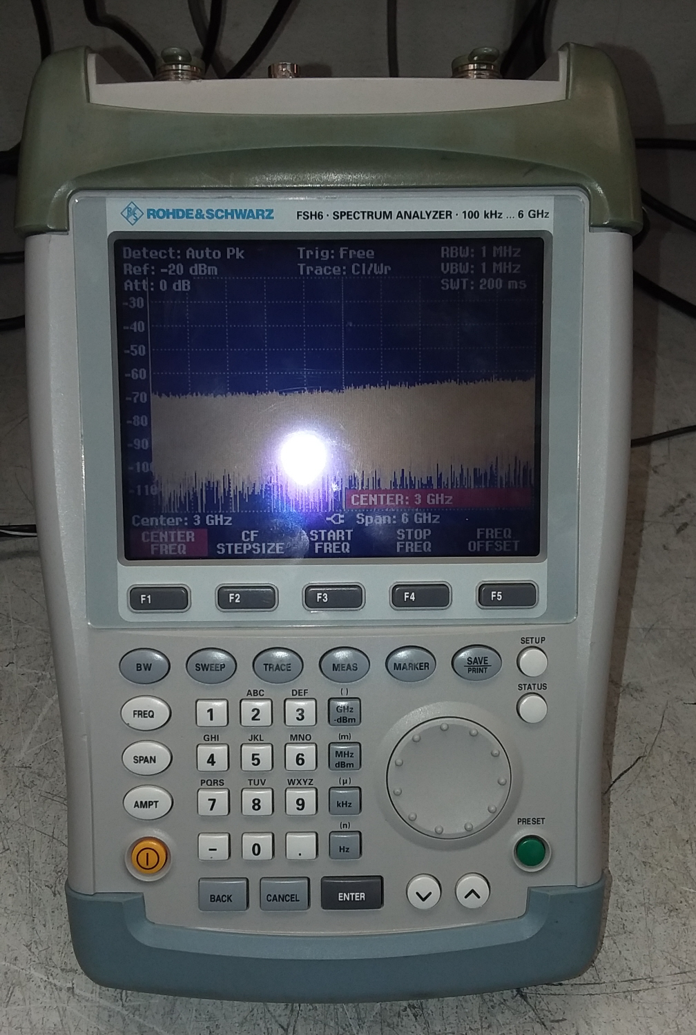 Rohde & Schwarz FSH6 for sale