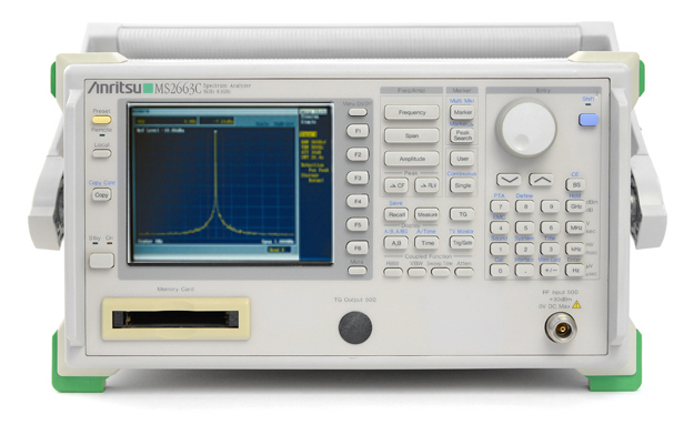 Anritsu MS2661C just arrived