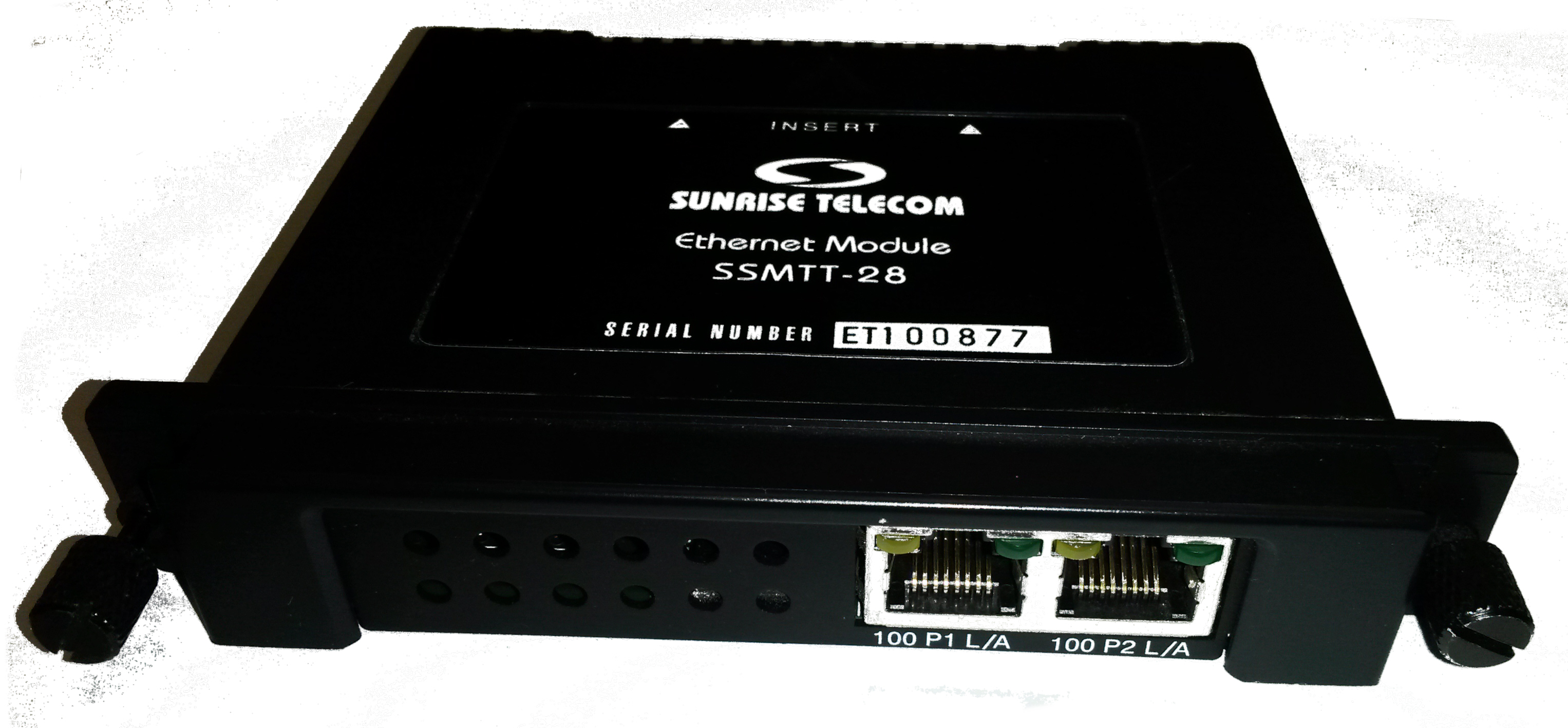 Sunrise Telecom SSMTT-28 just arrived